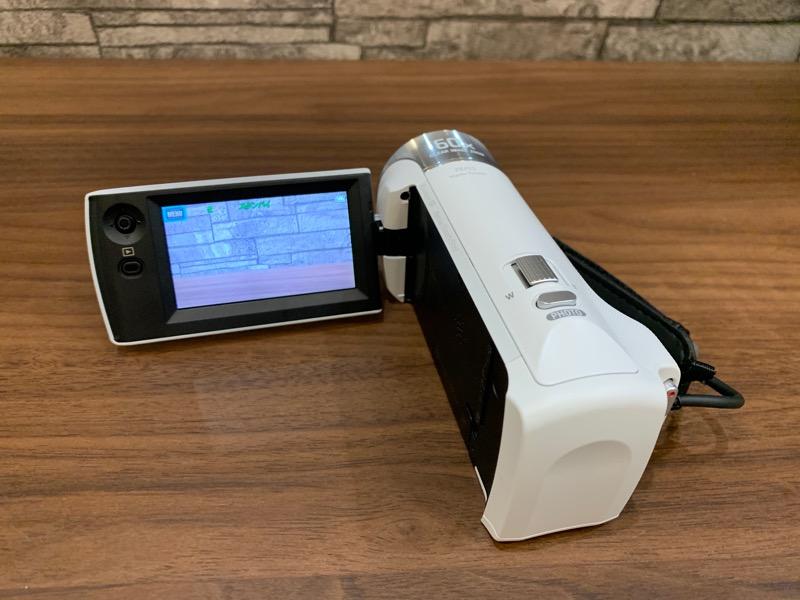 ビデオカメラ_HDR-CX470_モニタ
