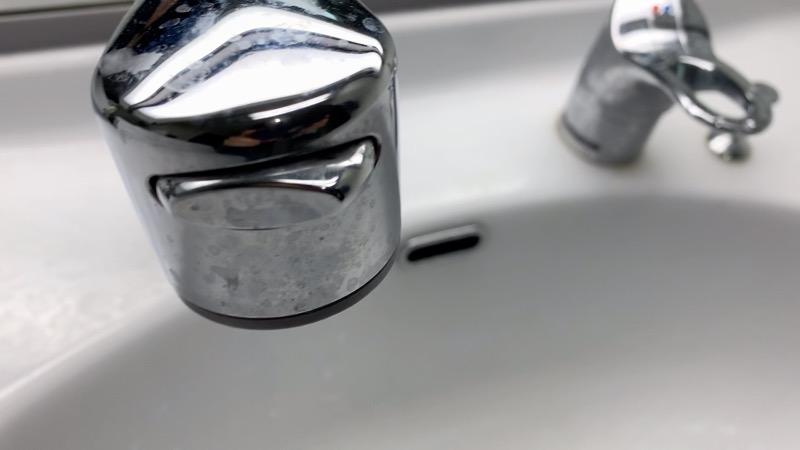 洗面台_掃除前_3