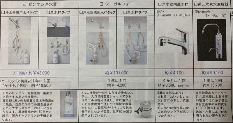 浄水器_カタログ