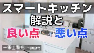 解説!一条工務店のスマートキッチン 使って感じた良い点・悪い点【動画あり】