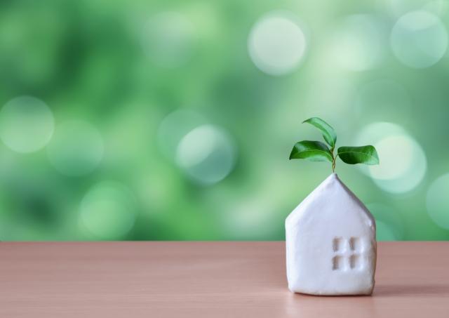 家と緑_イメージ