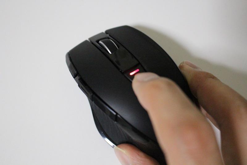 マルチペアリングマウス_接続切り替えボタン