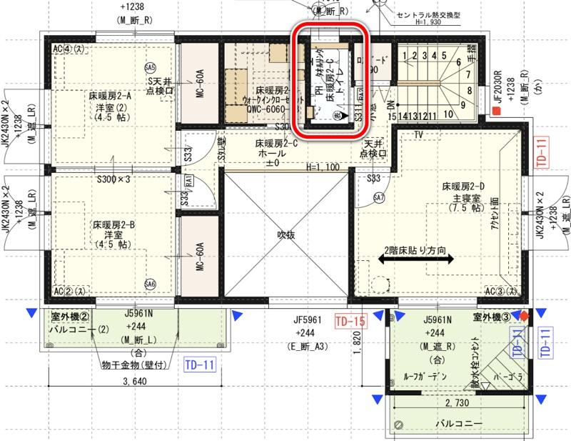 間取り図_2階_トイレ
