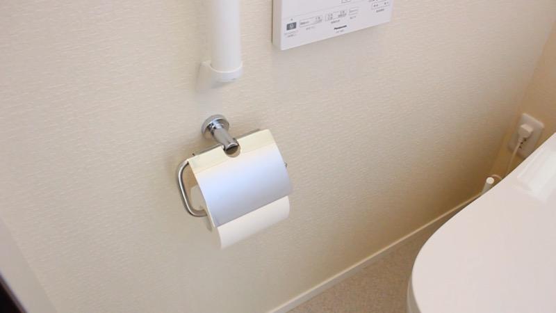 トイレ_手摺に傷3