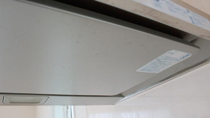 レンジフード_整流板表面の汚れ