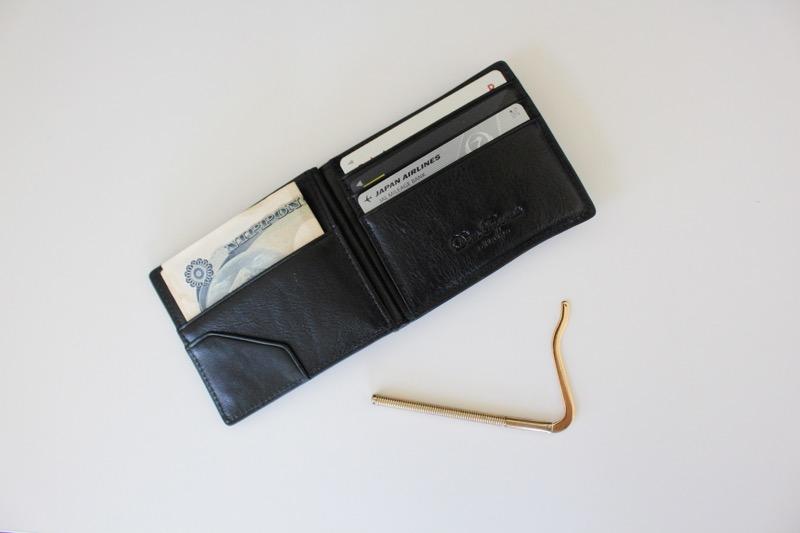 薄型財布_クリップ外した