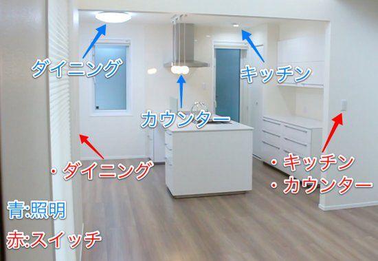 DK_照明スイッチの位置