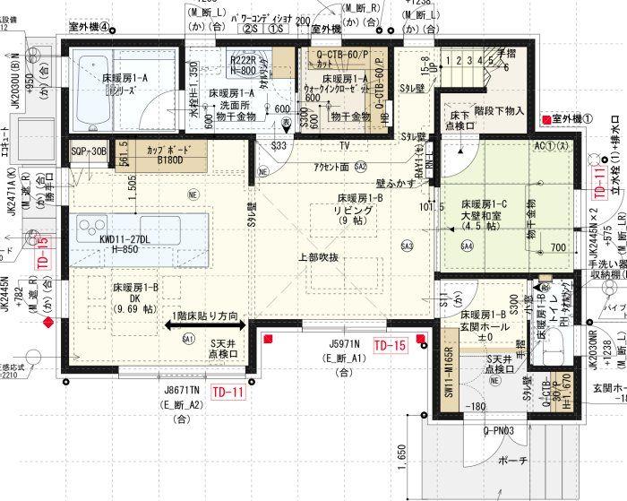 間取り図_1階