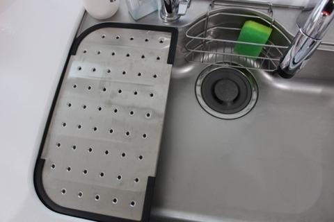 付属の水切りプレート